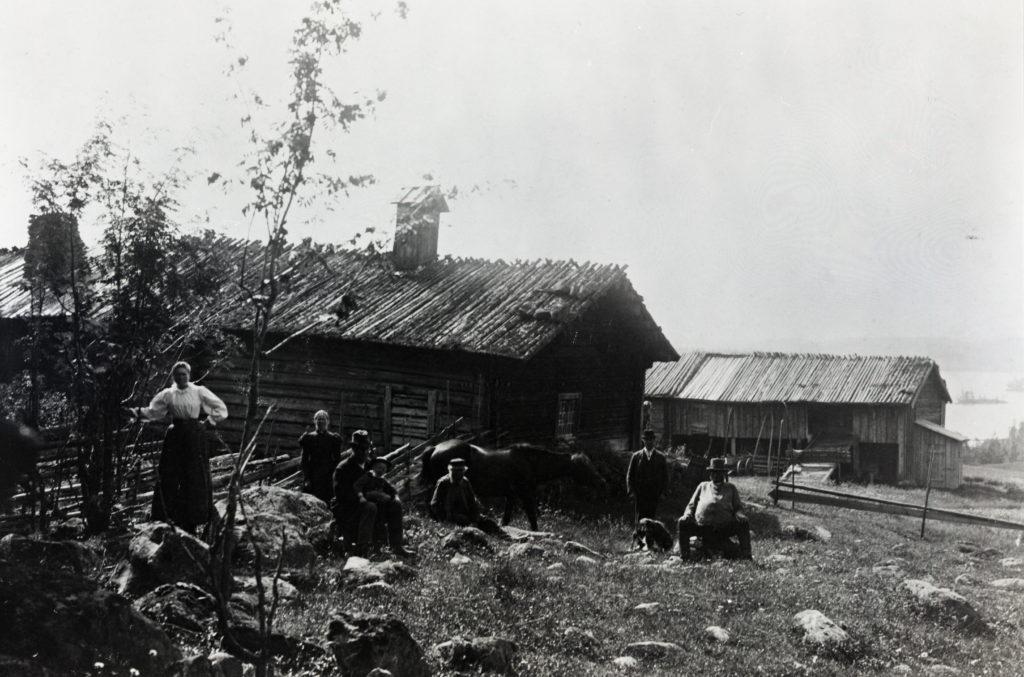 Kvarntorp finngård 1899